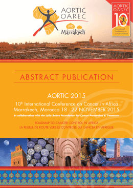 2015 Abstract Publication