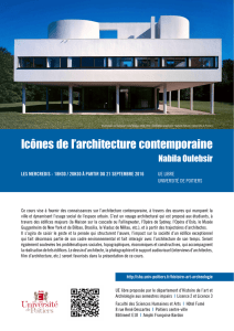 Icônes de l`architecture contemporaine