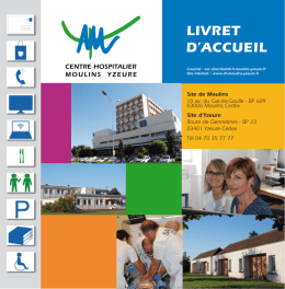 Version PDF - Centre Hospitalier de Moulins Yzeure