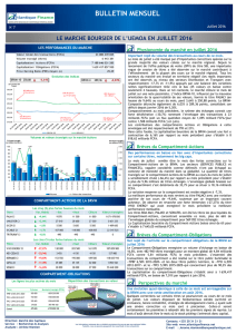 bulletin mensuel - Atlantique Finance