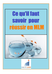 MLM, marketing de réseau