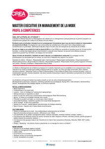 Master EXECUTIVE EN MANAGEMENT DE LA