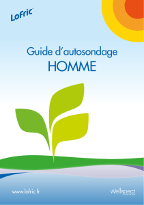 Guide d`autosondage - Wellspect HealthCare