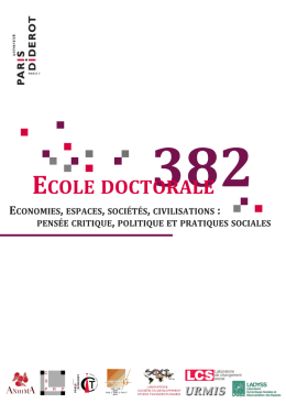 Natacha Zandronis - Ecole doctorale 382