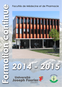 annee 2014-2015 formation continue facultes medecine