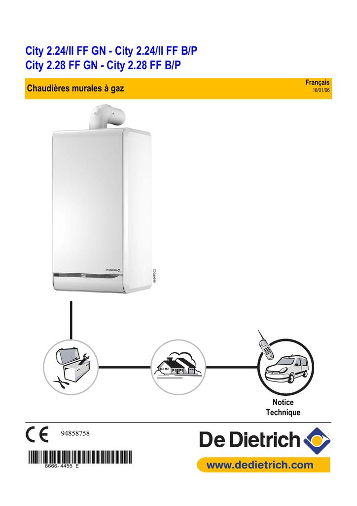 Notice chaudiere de dietrich gaz de dietrich twineo egc for De dietrich chaudiere gaz