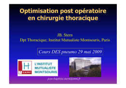 Evaluation pré-op ( PDF