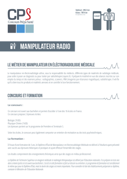 Manipulateur Radio