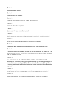 Question 1 Schéma du polygone de Willis. Question