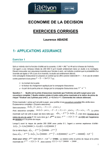 EXERCICES CORRIGES