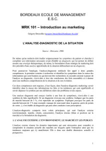 l`anal yse-diagnostic de la situation