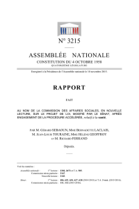 N° 3215 - Assemblée nationale