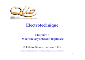 ch7 machine asynchrone - Fabrice Sincère