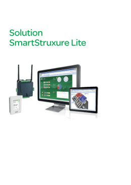 Solution SmartStruxure Lite