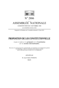 n° 2886 assemblée nationale proposition de loi constitutionnelle