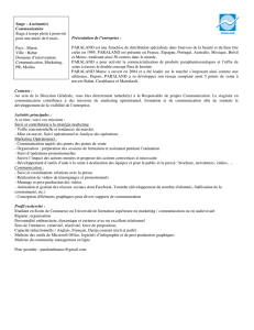 Stagiaire communication