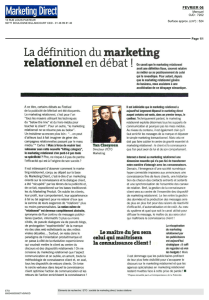 La définition dumarketing