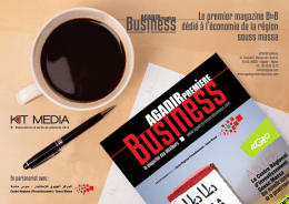 kit media - Agadir Premiere Business