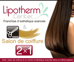 Salon de coiffure - Lipotherm Center