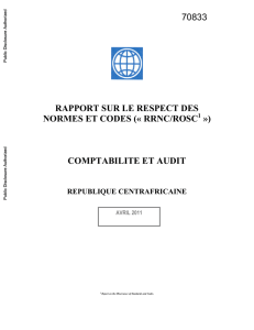 rrnc/rosc - World bank documents