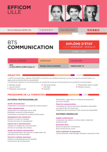 EFFICOM LILLE BTS COMMUNICATION