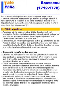 Devoir Surveille De Philosophie Avril 2012 Ts2 Duree 2 Heures L Homme Est Naturellement Bon Dissertation