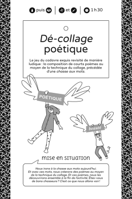 Dé-collage poétique