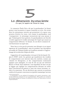 La dimension inconsciente
