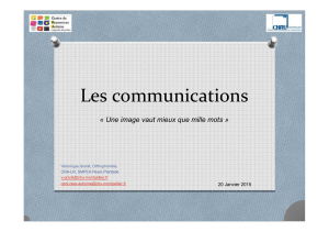 Les communications