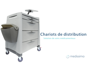 Chariots de distribution