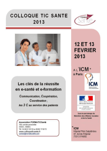 Programme du colloque FORMATIC 2013