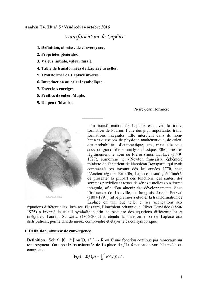 Document Support Pour La Feuille No 5