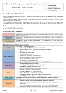 1ere management synthese chap1