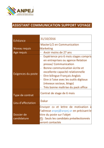 assistant communication support voyage