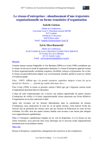 obtenir l`article - Association Internationale de Management