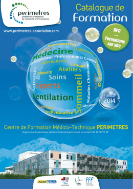 programme de formation - Perimètres association