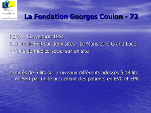 La Fondation Georges Coulon - 72