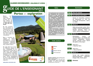 Le guide de l`enseignant Classes Secondaires