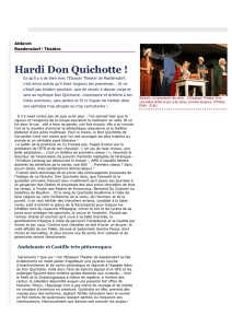 Hardi Don Quichotte