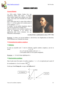 Cours document pdf 129 ko - Maths