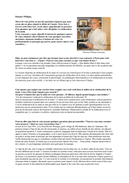 Lire l`interview.