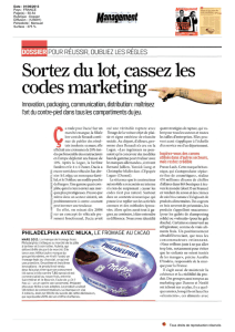 Sortezdulot,cassezles codesmarketing