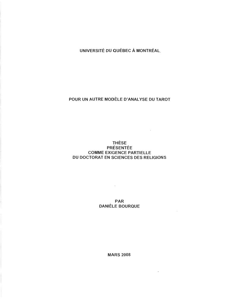 Autre D`analyse Pour Un Archipel Modèle Du Tarot TuKlcF31J