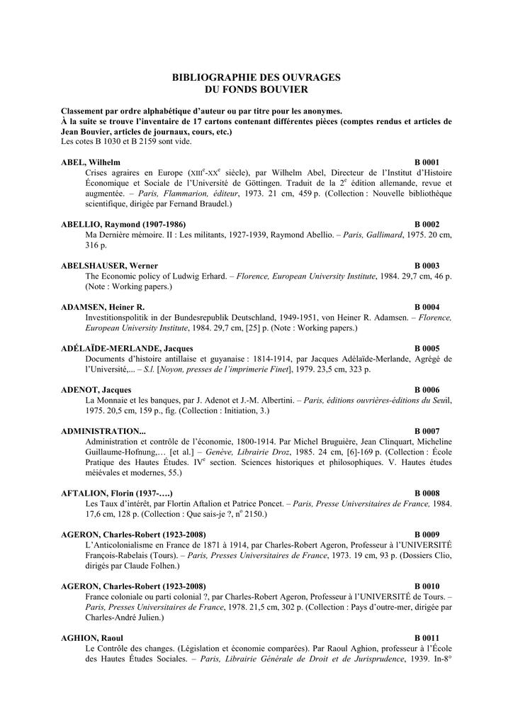 Catalogue Au Format Pdf Ministère De Léconomie