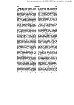 Biographie nationale, 11 (1890-1891) | www.academieroyale.be