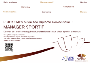 MANAGER SPORTIF