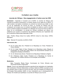 Invitation aux media
