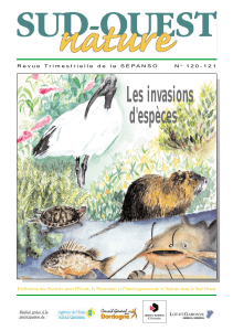 Sud-Ouest Nature n°120-121