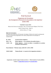 ProF-En-EcoS - Paris School of Economics
