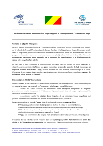 Banque Mondiale – MEDEF International - MEDEF Lyon